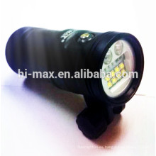 Mejor UV9 5200lumen submarino fotografía de buceo luz antorcha