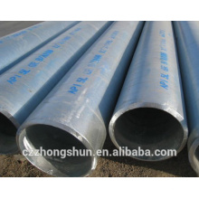 Tube galvanisé tube pron pour construction