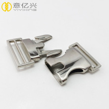 Custom Release Buckles Metal Adjustable Side Sliding Buckle