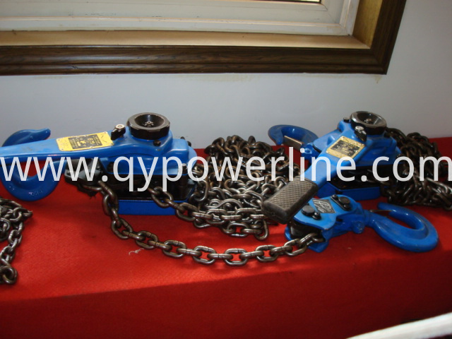 Manual Lever Chain Tightening Hoist