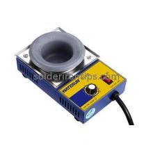 Melting Pot Round Titanium Solder Pot Small Tin Furnace 300