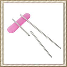 Screwed Type Stainless Steel Folding Chopsticks (CL1Y-CS203)