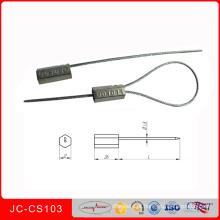 Jccs-103 10 PCS ABS, Ligas De Metal De Aço Inoxidável Aperto Fios De vedação de Vedação De Plástico Container Seal Tightener Laços Ship Seal