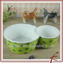 Bols en céramique pour animaux de compagnie