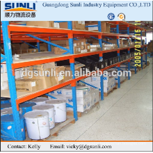 warehouse medium-duty shelves