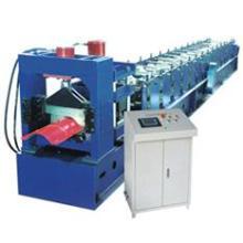 PLC completamente automático Control de calidad Metal Roof Ridge Roll Forming Machines
