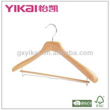 Alta calidad multifuncional de madera y pantalones percha suspensión