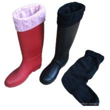 Boot Calcetines Calcetines Fabricantes Calcetines baratos al por mayor Boot, Calentadores de piernas de las mujeres, Calentador de pierna de punto