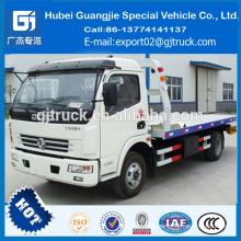 Camión del camión del remolque de la remolque de china del camión de auxilio 2016 camión de la plataforma de 5 toneladas