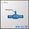Float ball valve cast iron welding ball valve