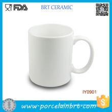 Ordinary Wholesale Cup Ceramic White Mug