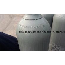99,999% gaz d'hélium rempli dans le cylindre 40L, pression statique: 135 + _5bar, valve Qf-2