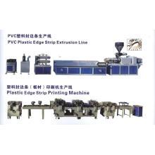 Línea de producción de la franja de bandas de borde de los muebles del PVC
