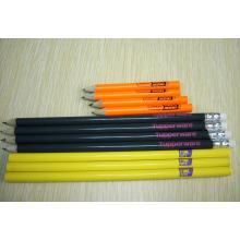Crayons en bois promotionnels courts écologiques de haute qualité Tc-P004