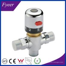 Fyeer Ду15 Ду20 Контроль Температуры Латунь Термостатический Смесительный Клапан