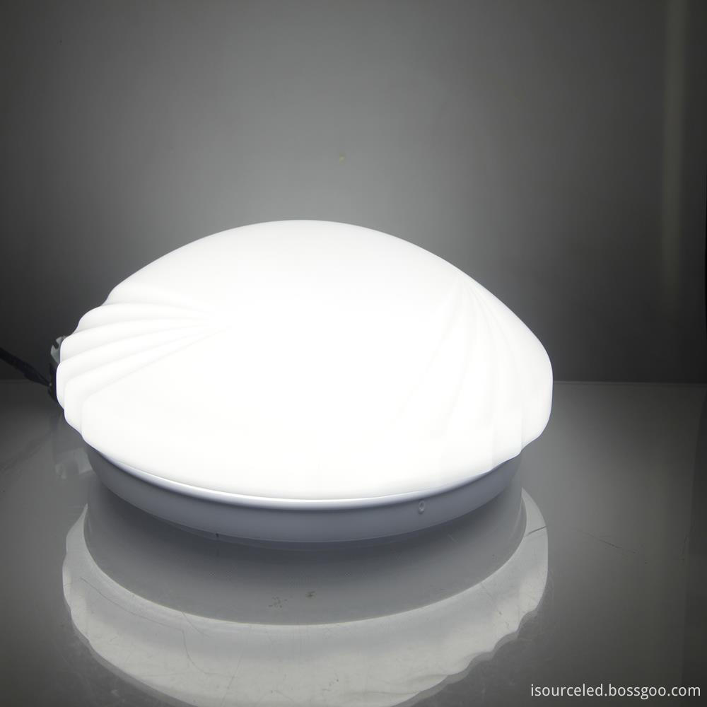 led light on ceiling