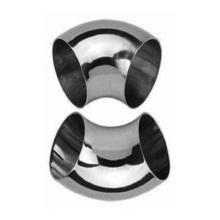 Tubo de brida de reductor de codo de montaje de tubería de acero inoxidable (fundición de precisión)