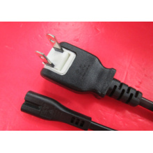 Portable Japan Power Cord with IEC C7