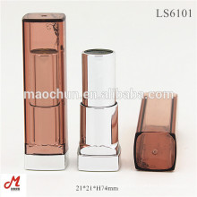 LS6101 Square transparent colorful lipstick case