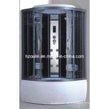 Cabine de douche en verre trempé de contrôle par ordinateur (AC-65)
