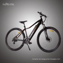 2017 heißeste BAFANG Mid Drive 48v500w elektrisches Fahrrad, E-Bike Schritt Werkzeug in China hergestellt