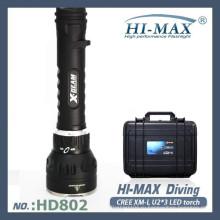 Профессиональный 3000lumen больше и ярче светодиодный / скрытый дайверский фонарик