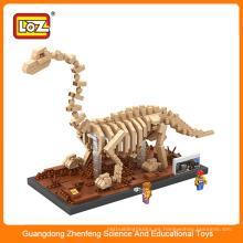 3D mini rompecabezas de juguete de plástico dinosaurio para niños