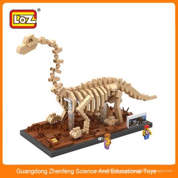 3D мини-игрушка-головоломка с пластмассовым динозавром для детей