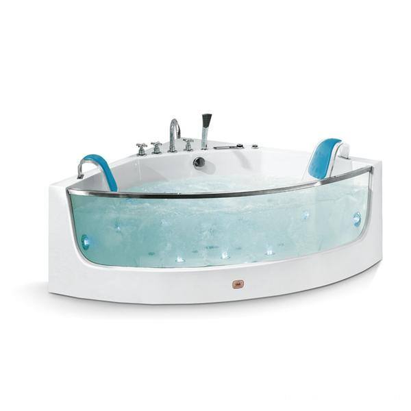 Two Person Sector Comfortable Massage Bathtub