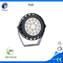 Reflectores LED para exteriores de bajo voltaje RGB
