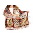 2015 spätestes Art-Großverkauf Niedriges MOQ 100% Silk Material Autum Schal für Dubai