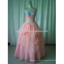 Hochwertige Materialien für buntes Sex Strappless Prom Dress