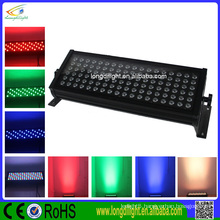 108W RGB DMX512 full color led wall washer