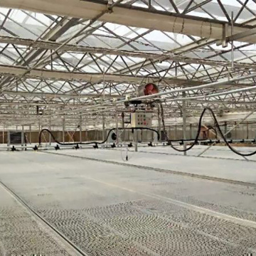 Greenhouse Movable Spray Irrigation System