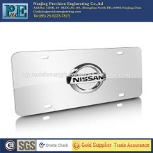 Customized alumium logo plate