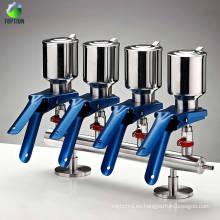 Manifolds de 3 vías de filtración al vacío