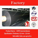 HDPE Liner Smooth Side 1mm for Pond or Landfill or Railway