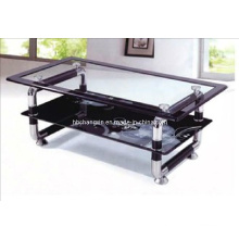 New Design Black Glass Coffee Table