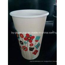 Bio-Degradable Material de las tazas de papel para la leche