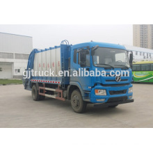 Dayun 4x2 drive compressor garbage truck for 3-12 cubic meter