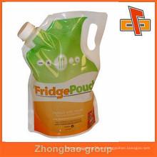 Bolsa de líquido de jabón líquida / bolsa de nylon de embalaje para líquidos