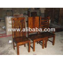 Chaise à manger en bois de Sheesham
