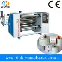 Máquina de rebobinamento de corte de papel, rebobinador de corte de papel de fax, rebobinamento de fenda de papel autocopiativo (DK-FQ)