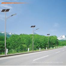 Larga vida útil nuevo estilo agradable precio poste de la lámpara solar