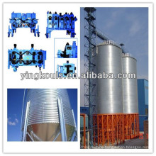 Grain silo making machine spiral steel silo forming machine