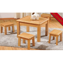 Carbonized Bamboo Baby Children Kids Playing Table Sets