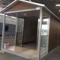 Casas prefabricadas de paneles de sendwich prefabricados de 3 habitaciones fabricadas en china