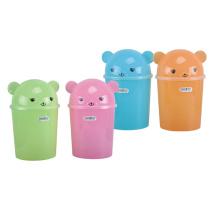 Красочный откидной пластиковый мусор (A11-5019)