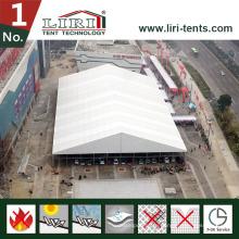 Роскошный большой шатер для авто торговой выставки автомобиля