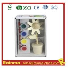 Цветочная краска для рисования красок для детей